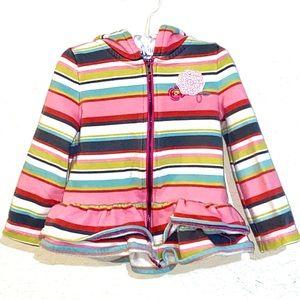Oshkosh Genuine Kids Girls Fleece Lined Jacket.